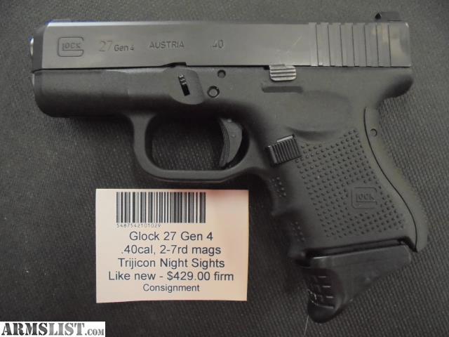 Armslist For Sale Glock 27 Gen 4