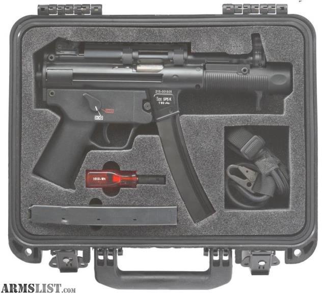For Sale: HK SP5K 9mm Pistol