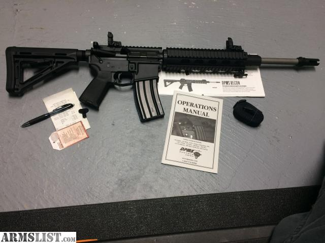 armslist for sale trade dpms recon ar 15 rh armslist com DPMS AR- 10 DPMS Oracle AR-15