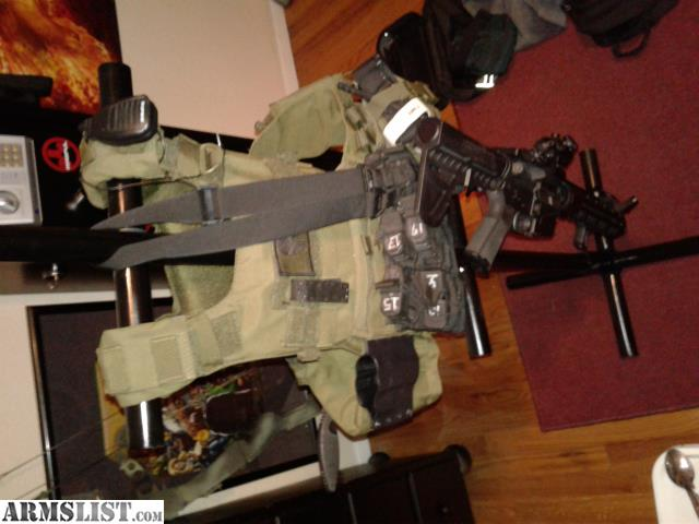 Home made plate carrier stand. Made out of 1\  tubing. Painted with a gloss black. The feet seperate from the stand for transportation. & ARMSLIST - For Sale: Plate carrier stand