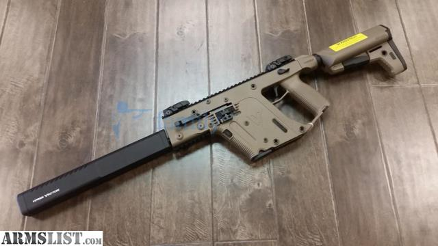 "For Sale: KRISS VECTOR CRB 10MM 16"" 15RD FDE"