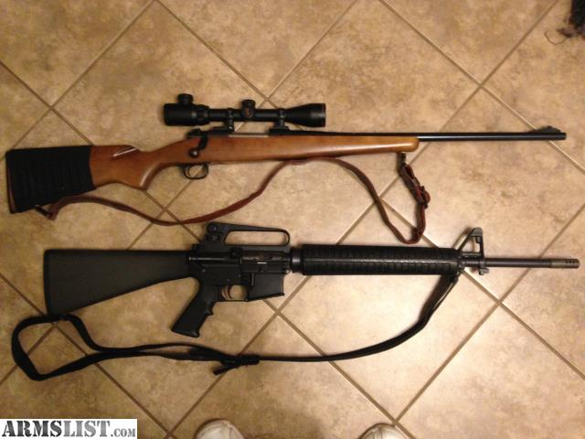 armslist for sale trade winchester 30 06 2 ar 5 56 7 62x39