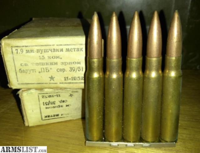 ARMSLIST - For Sale: 8mm milsurp - 37.7KB