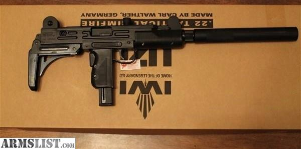 ARMSLIST - For Sale: IWI Uzi Rifle,  22LR Tactical Rimfire made by