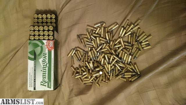 ARMSLIST - For Sale: box of 100 rounds of Remington 9mm ammo and bag