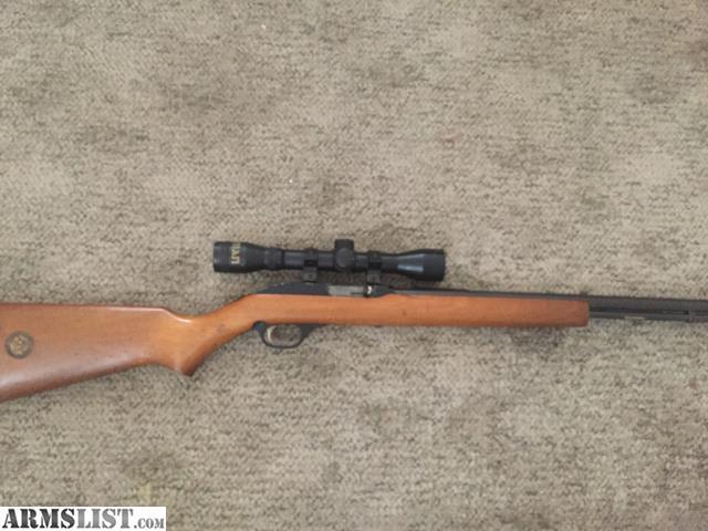 Armslist For Trade 1993 Marlin Model 60w