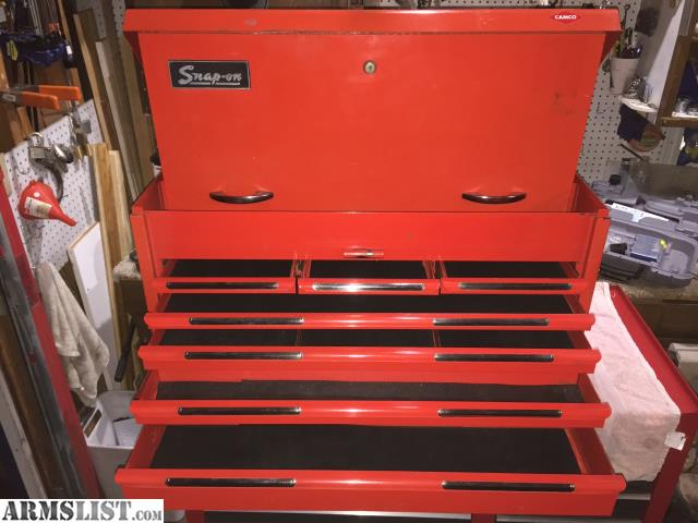 ARMSLIST - For Sale/Trade: Vintage Snap On top tool box