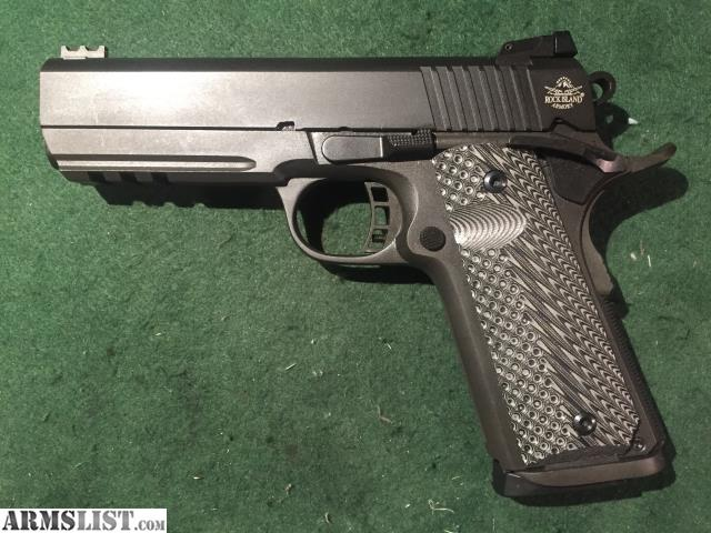 Rock Island Armory Mm Mid Size Tactical  Commander For Sale