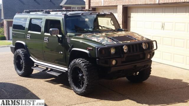 Army Vehicles For Sale >> ARMSLIST - For Sale: Hummer H2 Army Edition