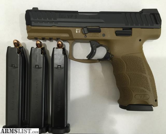Armslist for sale hk vp9 9mm le fde