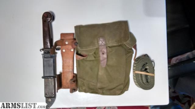 ARMSLIST - For Sale: Romanian AK-47 Type 1 Bayonet and