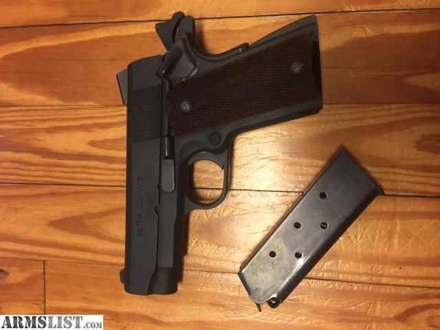 ARMSLIST - For Sale/Trade: Springfield Ultra Compact 1911
