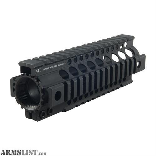 "For Sale: 7"" Midwest Industries Free Float Quad Rail Carbine Length, MI-T7G2"