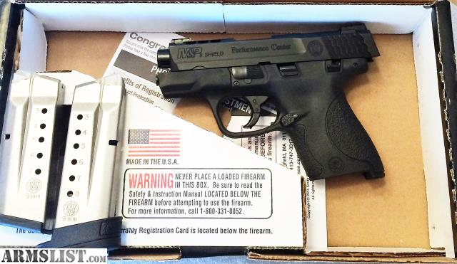 Armslist for sale s w m p 9mm performance center ported for M p ported shield 9mm