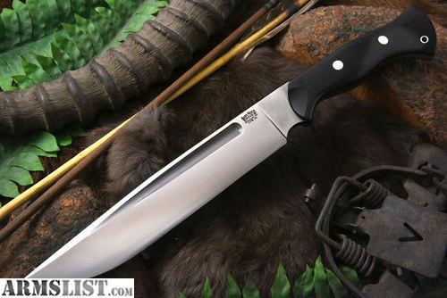 armslist for sale bark river peter kohler 39 s dark timber grizzly knife. Black Bedroom Furniture Sets. Home Design Ideas