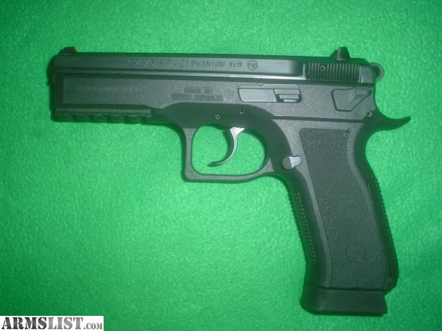 armslist for sale cz sp 01 phantom 9mm