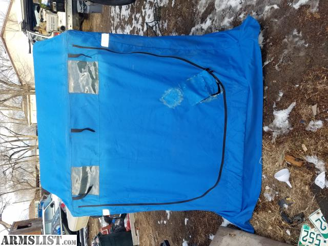 Armslist for sale trade clam ice fishing hut for Ice fishing huts for sale