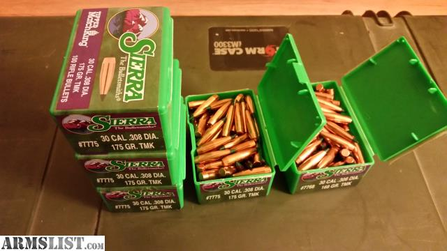 ARMSLIST - For Sale: 500 Sierra Tipped Matchking bullets