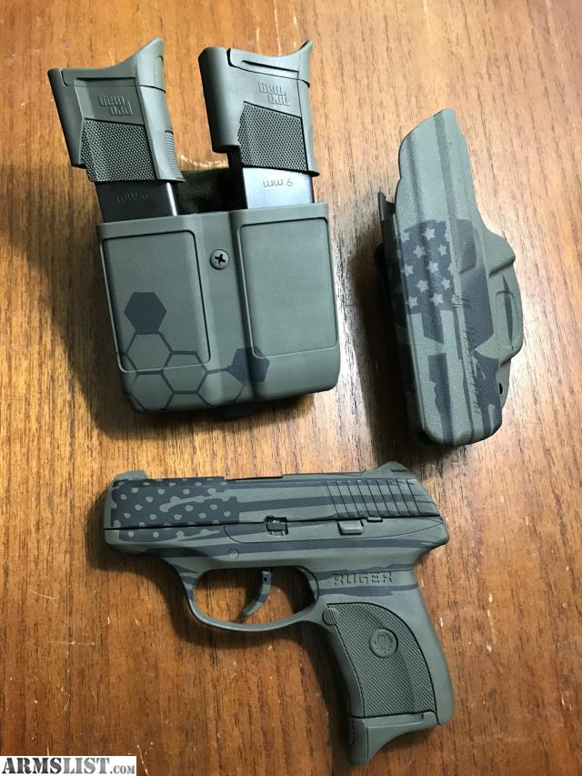 ARMSLIST - For Sale/Trade: Custom Flag Ruger LC9S PRO