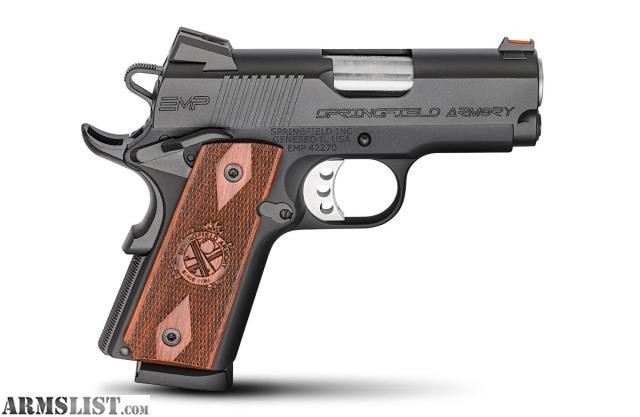 Armslist for sale springfield armory 1911 a1 emp compact lt weight