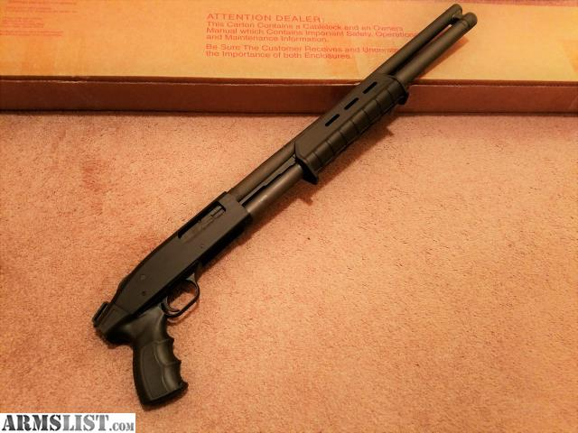 how to put pistol grip on mossberg 500