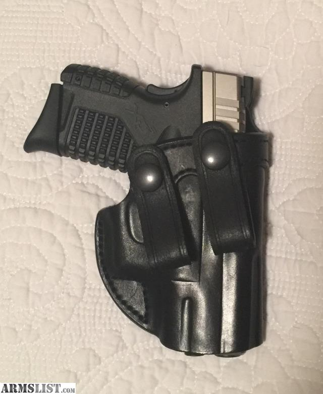 ARMSLIST - For Sale: NEW Leather IWB holster XDS 9mm