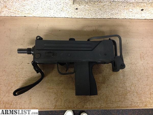 ARMSLIST - For Sale: M10A1 9mm Machine Gun Mac 10