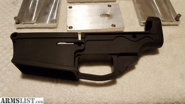 ARMSLIST - For Sale: AR10 80% lower and Jig NEW!! REDUCED