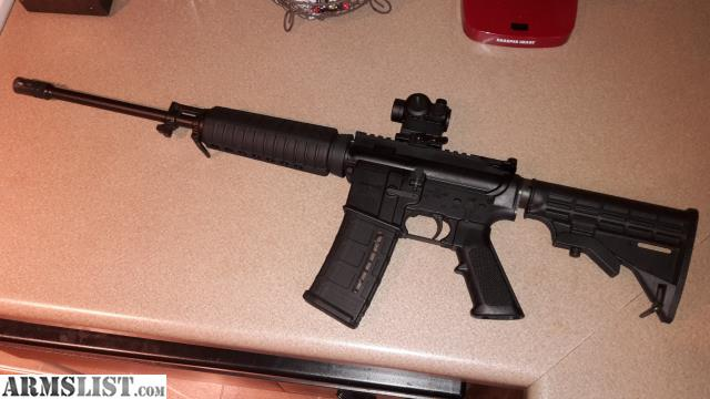 For Sale: Bushmaster AR-15 5.56/.223