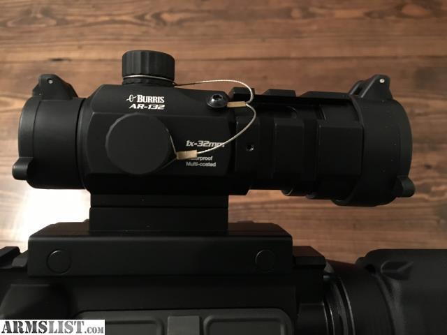 Armslist For Saletrade Burris Ar 132 Red Green Dot Optic