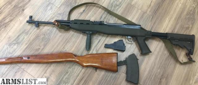 Armslist for sale sks tapco stock original wood stock