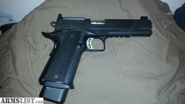 ARMSLIST - For Sale/Trade: Caspian Greeley Custom 9mm 38 super 1911
