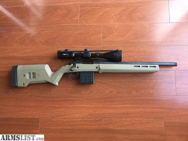 Armslist For Sale Remington 700 Sps Tactical 223 Fde 16 5