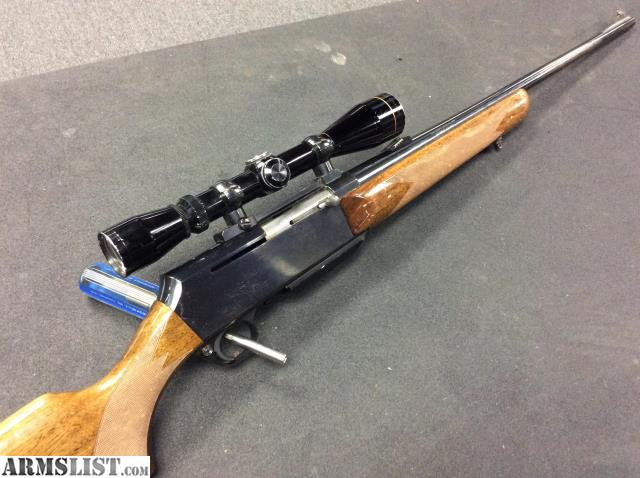 0c04ba68810 We are selling a Belgium made Browning BAR semi-auto rifle with older  Leupold VX-1 scope and chambered in .300 Winchester Magnum.