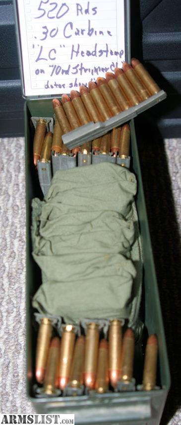 Carbine Ammo Military Surpl on M1 30 Carbine Accessories