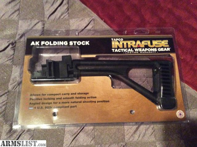 Folding stock options for ak
