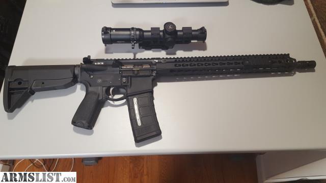 Armslist For Sale Bcm 16 Quot Complete Rifle