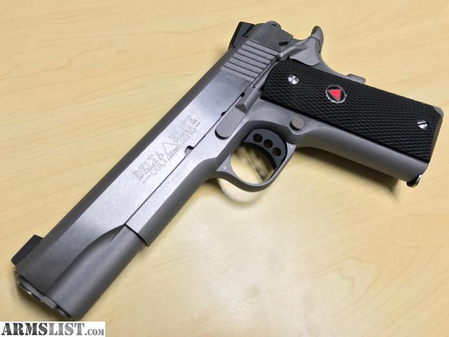 ARMSLIST - For Sale: NEW Colt Delta Elite MK IV 10MM SS
