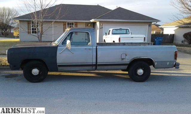 1984 dodge truck transmission