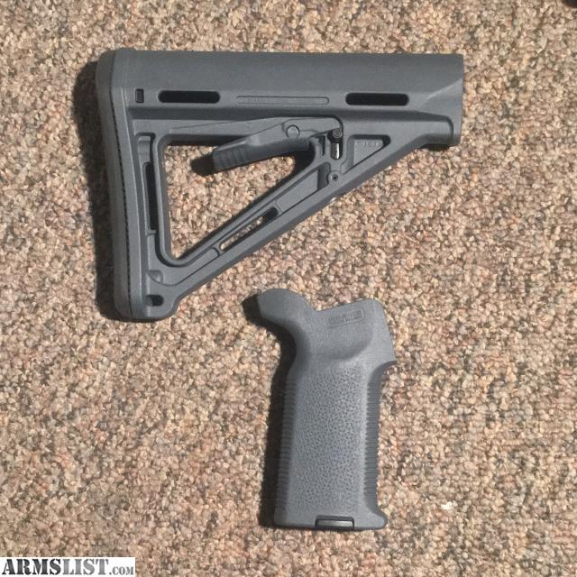 Armslist For Sale Magpul Stealth Gray Ar 15 Furniture Set