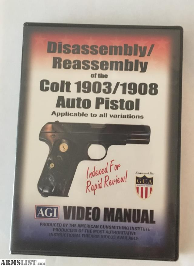 ARMSLIST - For Sale: AGI Disassembly/Reassembly of the Colt