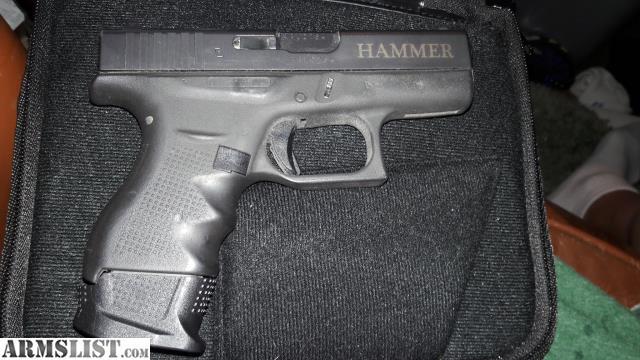 ARMSLIST - For Sale: Custom glock 42
