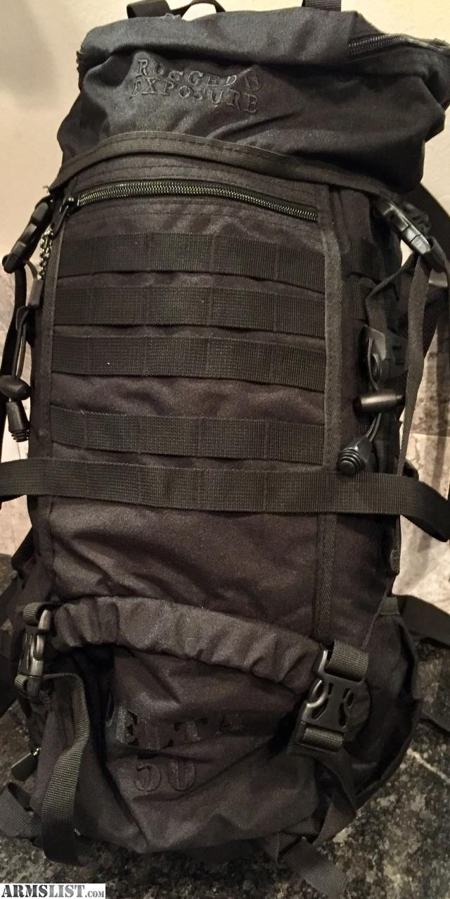 New Old Stock Black Tactical Delta 50 Backpacks By Rugged Exposue. These  Packs Have A Huge 50L Capacity, Are Hydration Bladder Compatible (not  Included), ...