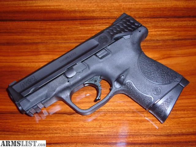 For Sale: S&W M&P 9c Used With 4 Mags