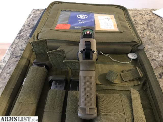 Armslist for sale trade fnx 45 tactical with trijicon rmr