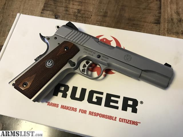 armslist  for sale ruger 1911 45 acp stainless