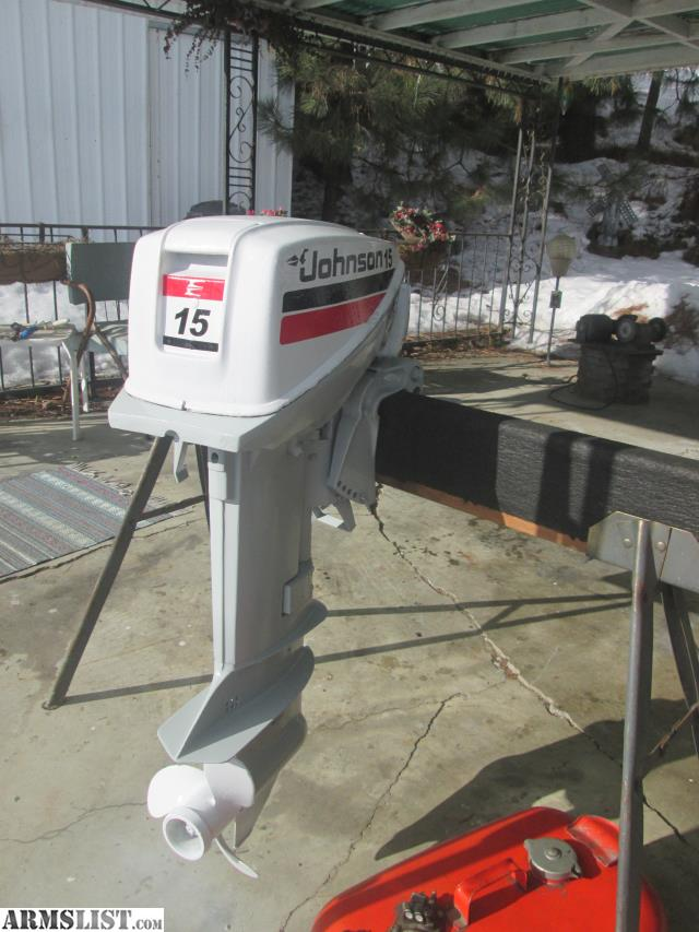 Armslist For Sale Trade Clean 15hp Johnson Outboard