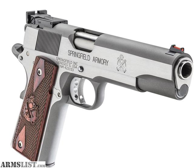 Armslist For Sale Springfield 1911 A1 Range Officer