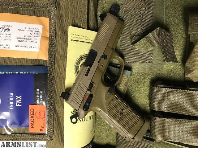 Armslist for sale new fnx 45 tactical fde
