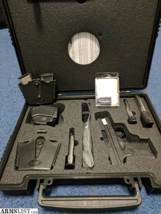 Armslist for sale springfield armory xds 3 3